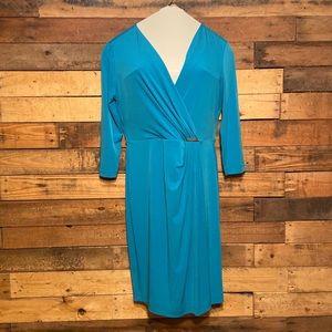 Blue Calvin Klein dress